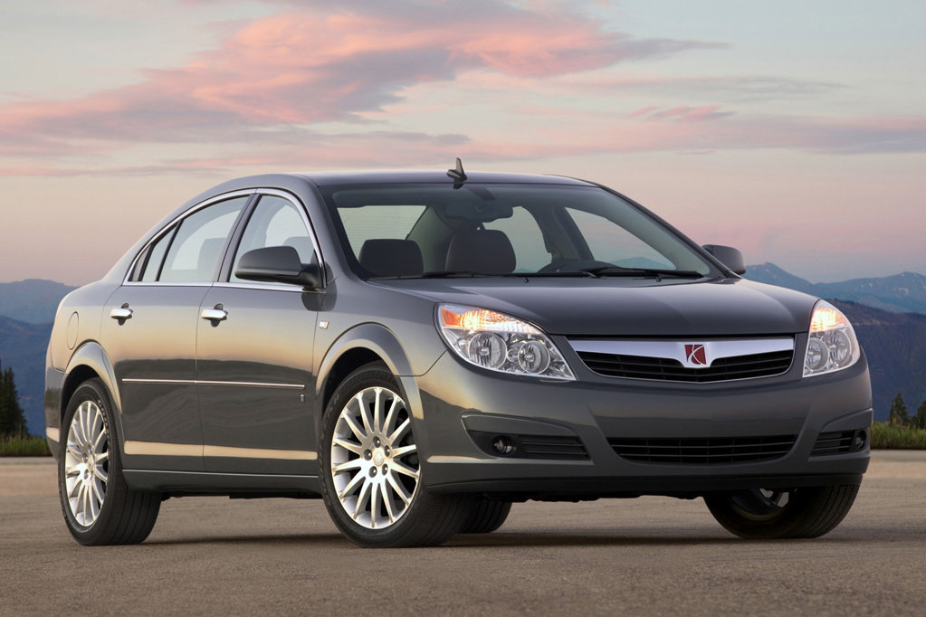 The Saturn Aura Debuted In 2005 A Midsize Car Replacing L Series Despite Its Success Was Discontinued With End Of