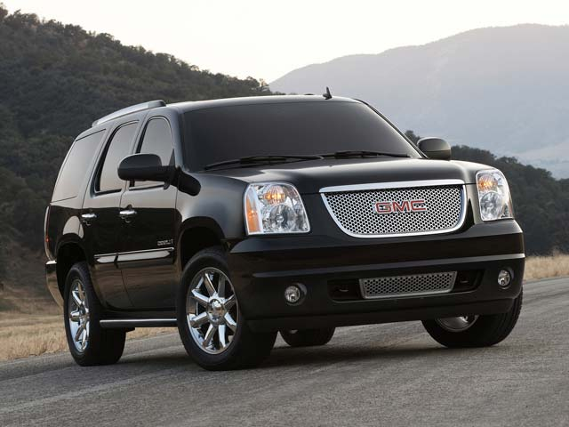 the gmc yukon is a decendent of the gmc jimmy and manufactured on the ...